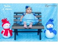 ensaio fotográfico mensal do bebê preço em Panamby