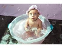 ensaios fotográficos do bebê comendo o bolo em Pinheiros