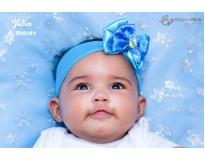 ensaios fotográficos mensal do bebê no Jardim América