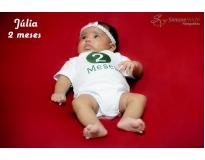 onde encontrar ensaio fotográfico de acompanhamento do bebê em São Domingos