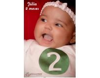 onde encontrar ensaio fotográfico mensal do bebê na Continental