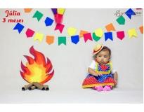 orçamento de ensaio fotográfico do primeiro ano do bebê em Sumaré